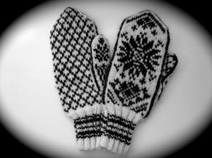 Diane's Norwegian mittens.