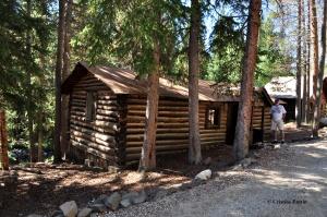 100+ year old cabin.