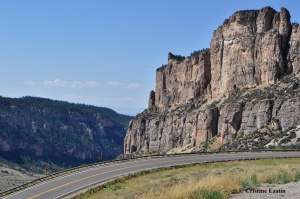 Highway 16 in the Bighorn Mountains